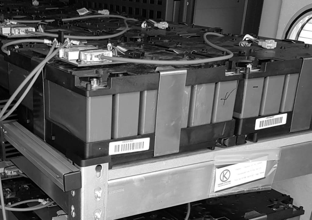 Second-Life Batterie Module