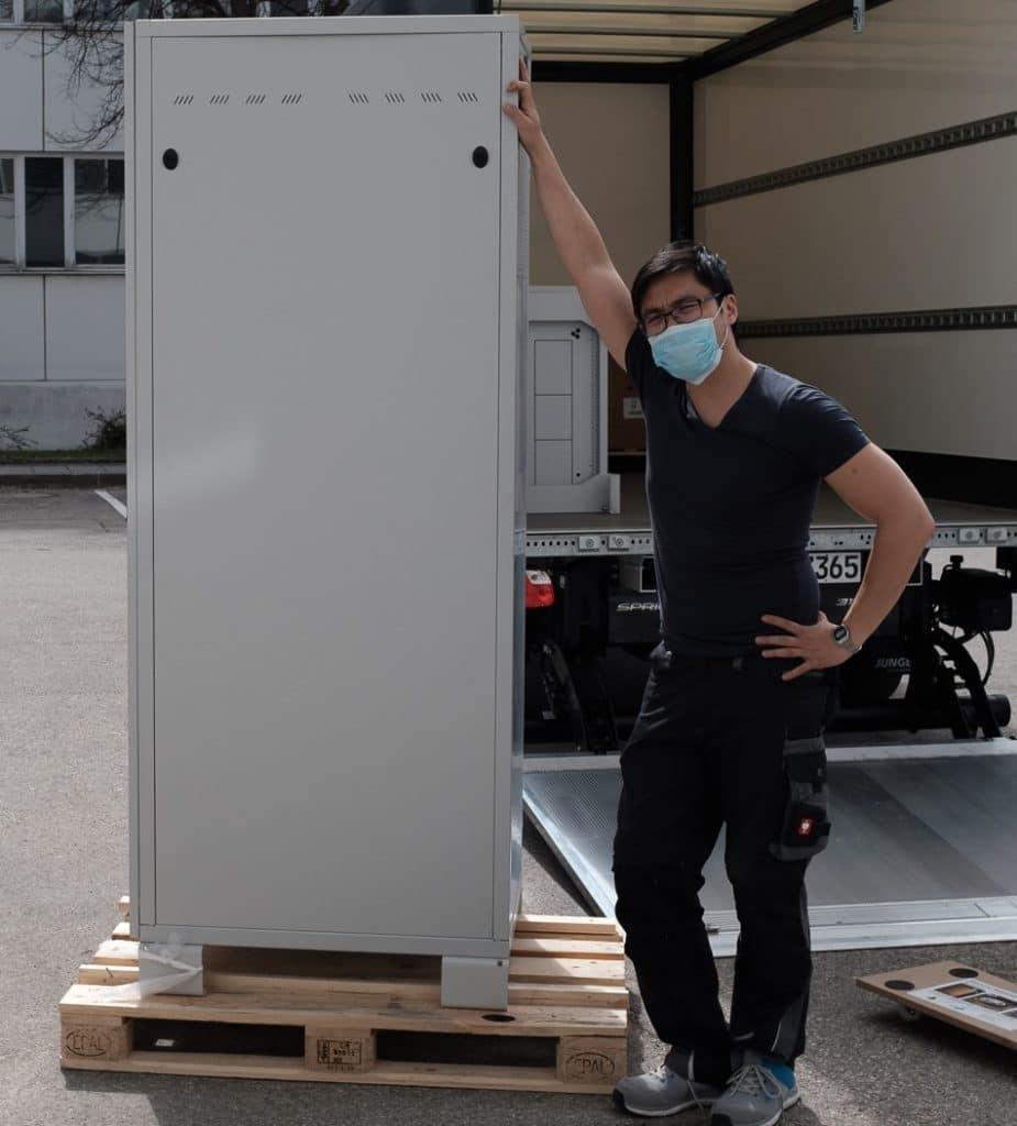 STABL Energy Nam loading certification Racks