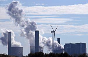 Energiewende Wind versus Kohle